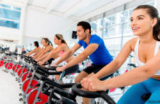 Спин класс или тренировка на велотренажере для начинающих.