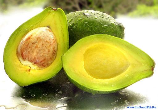 продукты содержащие клетчатку. Авокадо