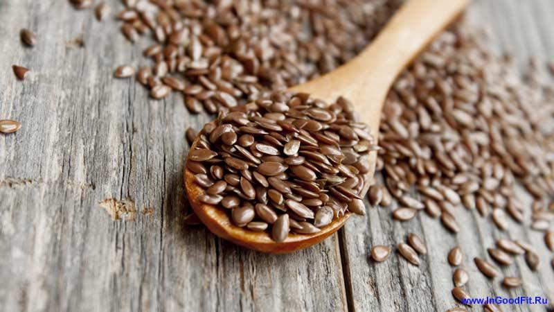 продукты, ускоряющие обмен веществ. семена льна