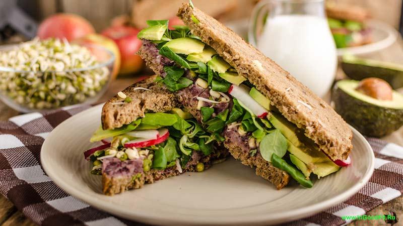 продукты содержащие натрий. бутерброды