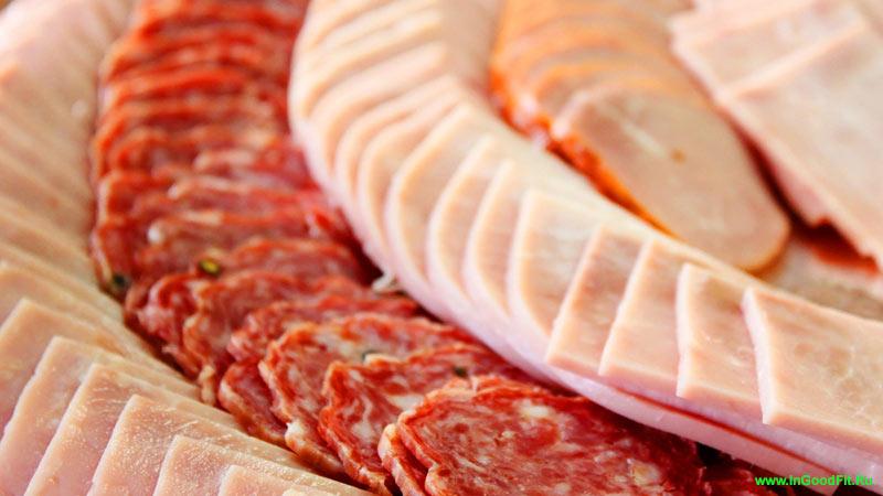 продукты содержащие натрий. мясные деликатесы
