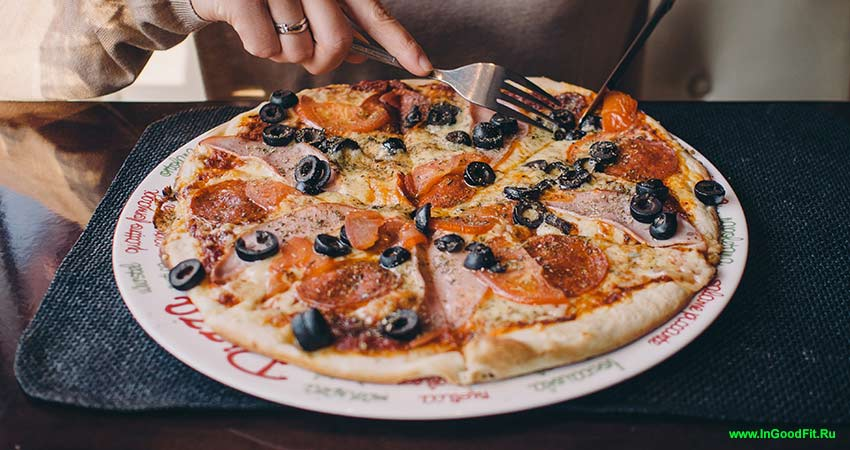 продукты содержащие натрий. пицца