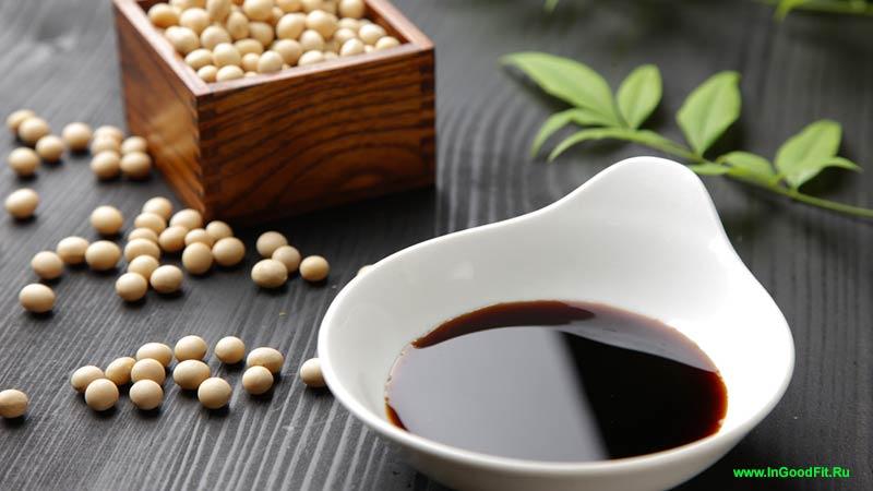 продукты содержащие натрий. соевый соус