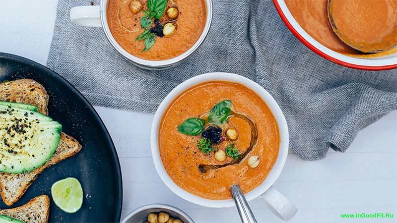 продукты содержащие натрий. супы