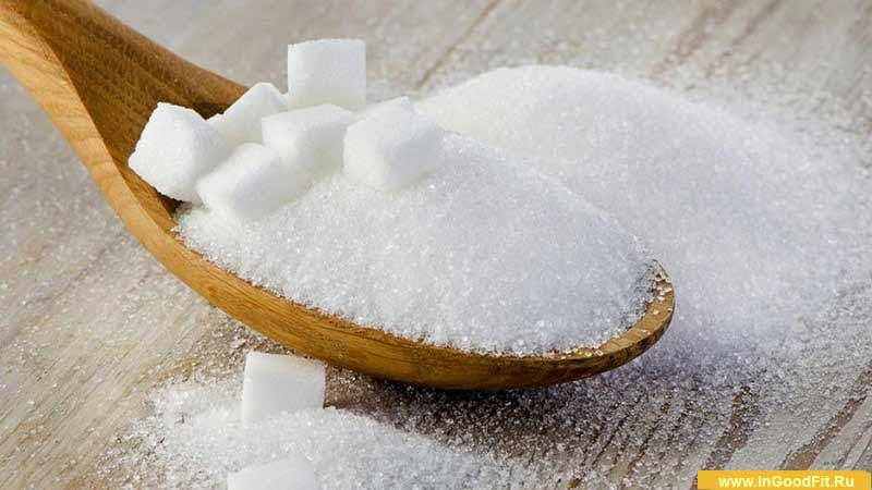 потребление сахара