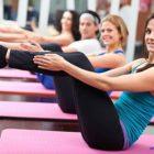 Пилатес тренировка на 10 минут для укрепления мышц живота