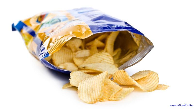 список вредных продуктов. чипсы