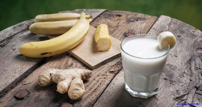 рецепты банановый смузи фото
