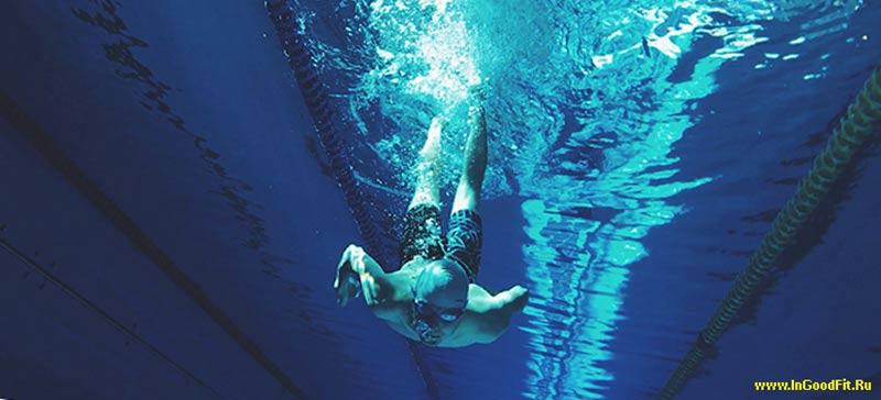 сколько калорий надо сжигать в день. Плавание