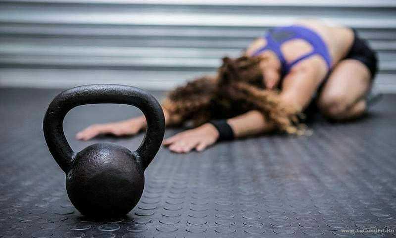 польза гири для похудения женщин