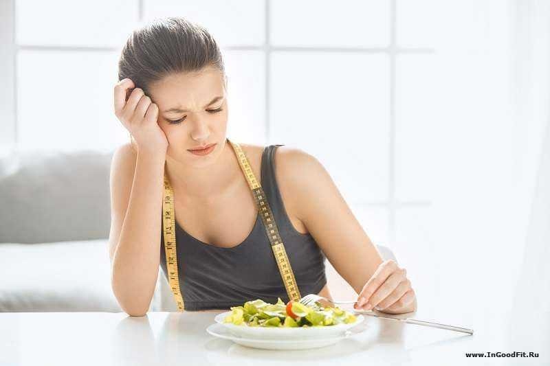 неправильное похудение. пропуск приема пищи
