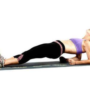 Упражнение обратная планка. Как правильно делать