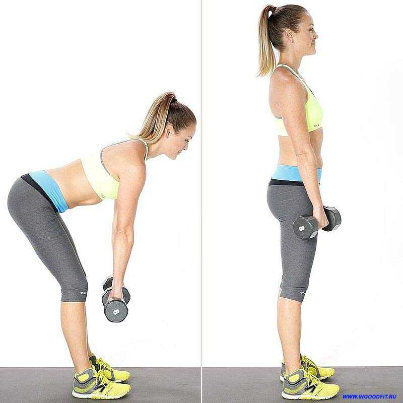 румынская тяга. упражнение для мышц ягодиц