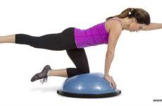 Босу фитнес: лучшие упражнения на полусфере