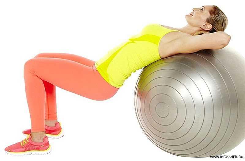 тренировки с фитболом для всего тела