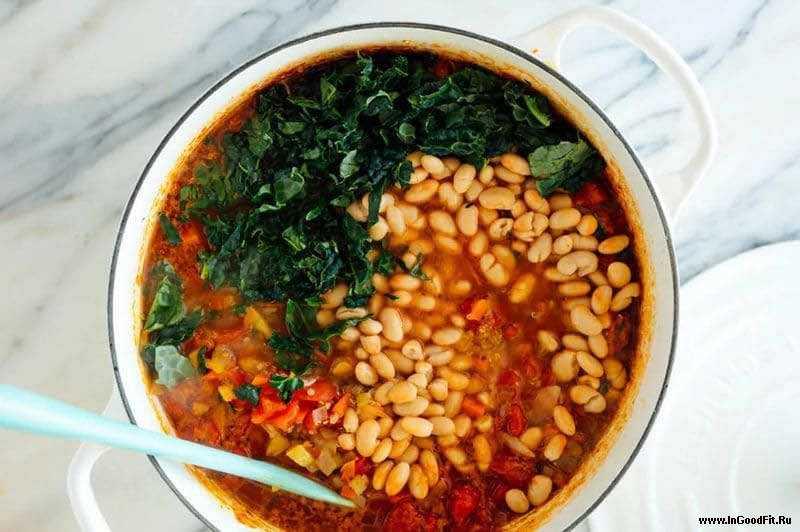 как приготовить вегетарианский овощной суп с киноа