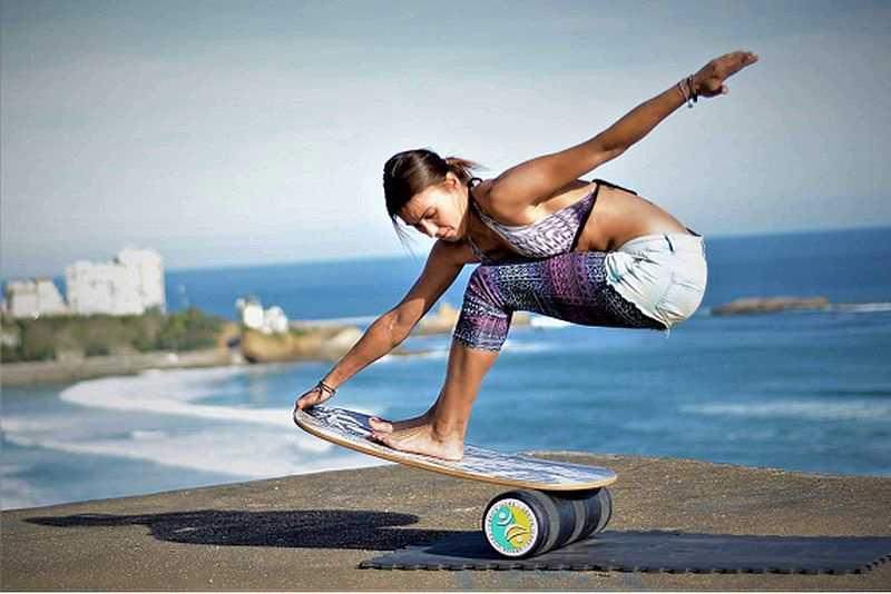 упражнения на балансировочной доске